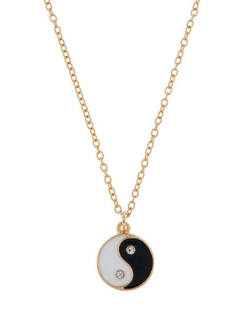 Yin Yang Pendant Necklace, , large