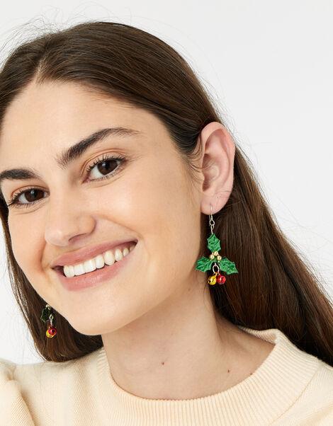 Holly Bell Short Drop Earrings, , large