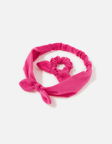 Jersey Bando and Scrunchie Set, , large