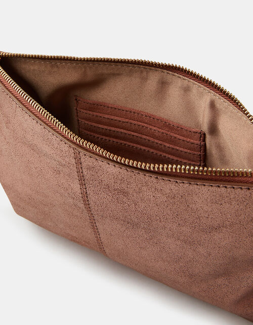 Carmela Leather Cross-Body Bag, , large