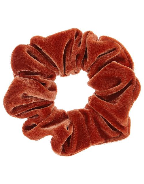 Oversized Velvet Scrunchie, , large