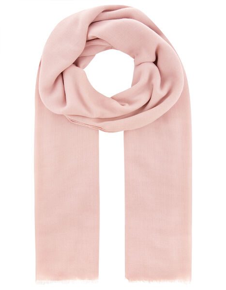 Sorrento Lightweight Scarf Pink, Pink (PALE PINK), large