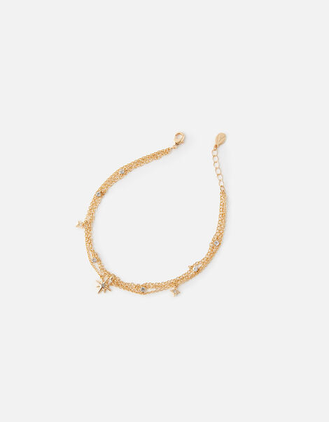 Celestial Layered Anklet, , large