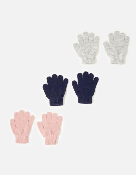 Plain Glove Set Multi, Multi (PASTEL-MULTI), large