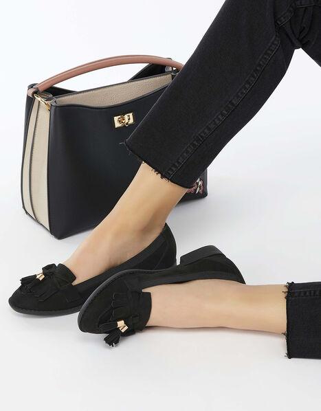 Latimer Elasticated Loafers Black, Black (BLACK), large