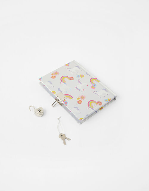 Unicorn Lockable Journal, , large