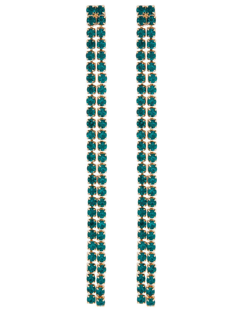 Esmarelda Cup Chain Drop Earrings, , large