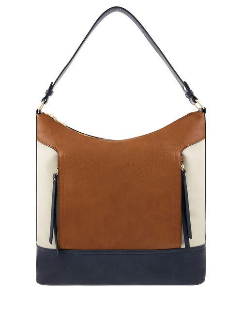 Holly Colour-Block Handbag, , large