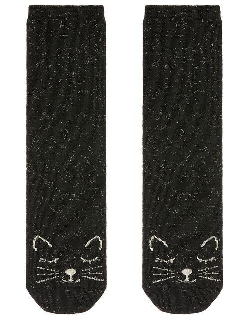 Sabrina Sparkle Cat Socks, , large