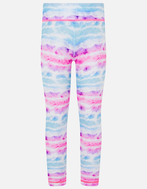 Tie Dye Active Leggings, Multi (BRIGHTS-MULTI), large