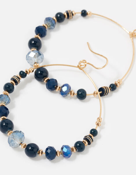 Country Retreat Beaded Hoops , , large