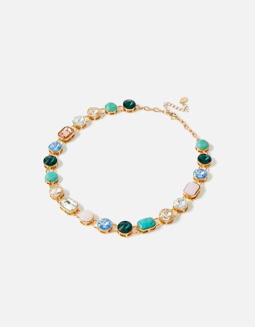 Feel Good Gem Collar Necklace, , large