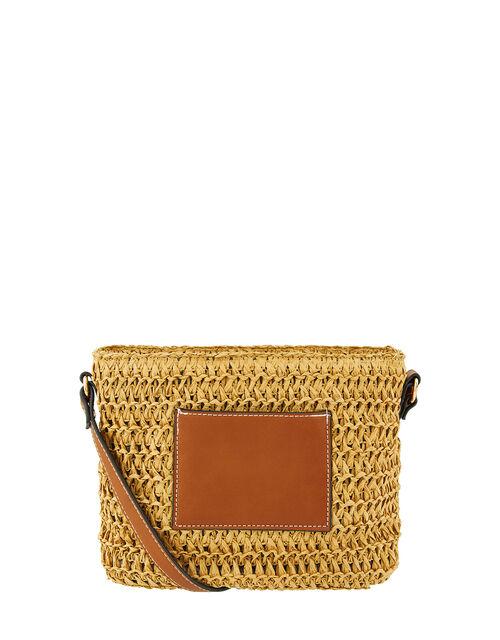 Julia Woven Cross-Body Bag, , large