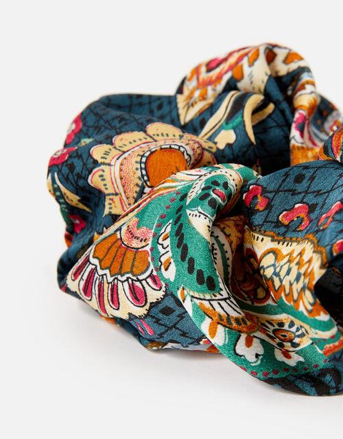 Opulent Paisley Scrunchie, , large