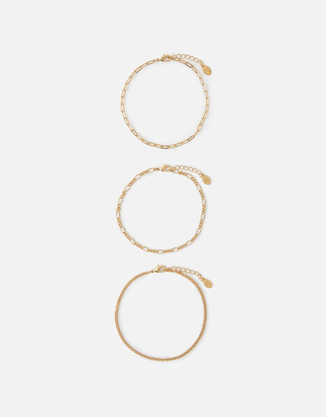 Chain Bracelet Set, , large