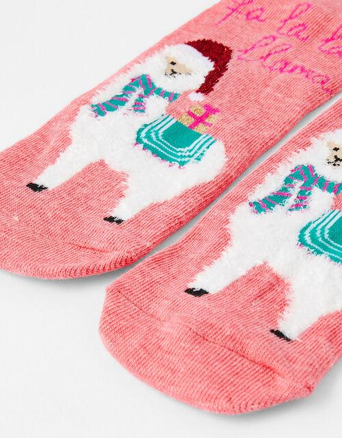 XMAS Llama Socks, , large