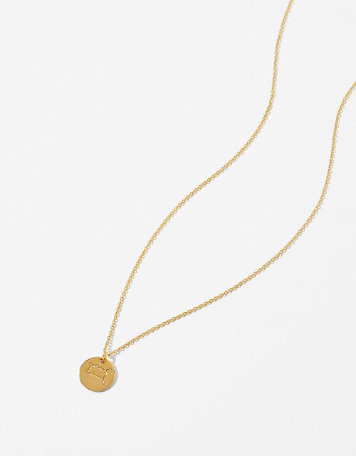 Gold Vermeil Constellation Necklace – Gemini, , large