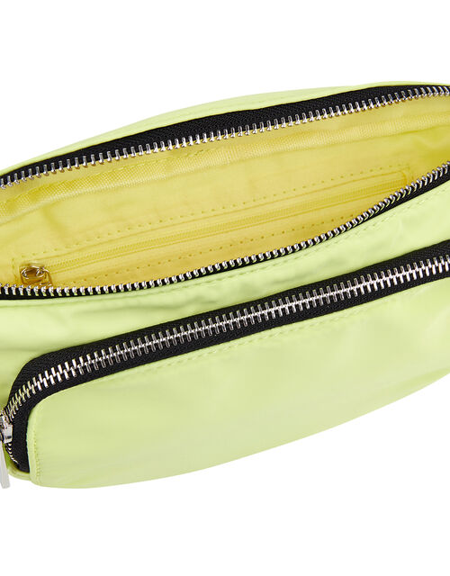 Lime Sporty Bumbag, , large