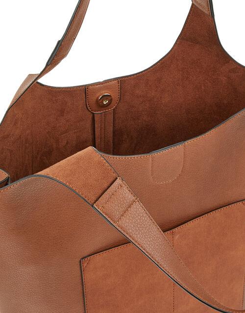 Kathy Tote Bag, Tan (TAN), large