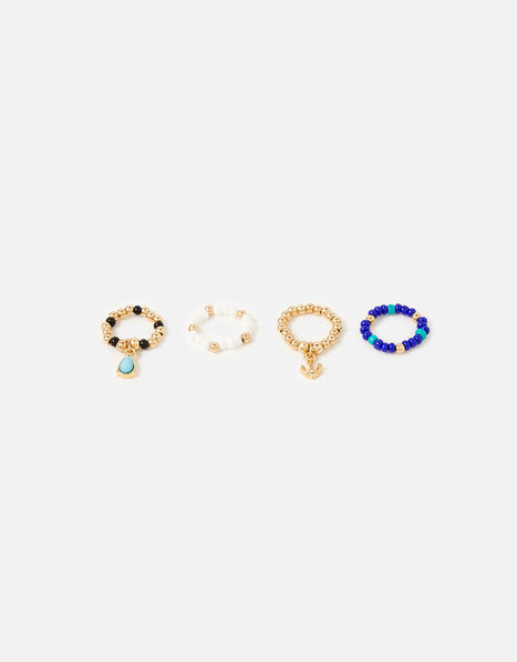 St Ives Charmy Stretch Ring Set, , large