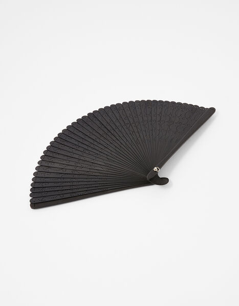 Bamboo Laser-Cut Fan, , large