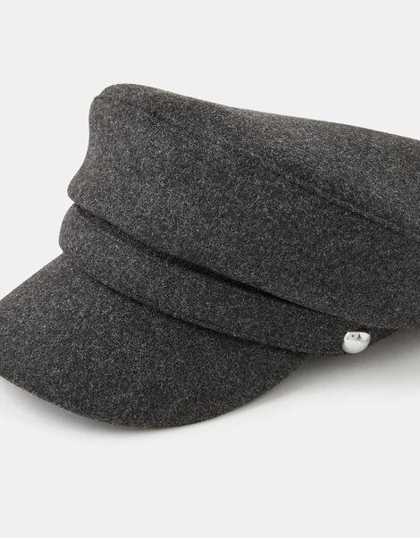 Studded Cap Grey, Grey (GREY), large
