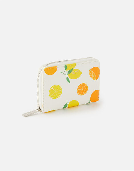 Lemon Print Wallet, , large