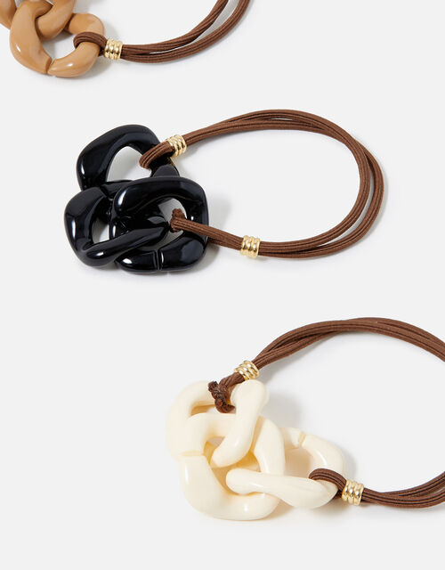Matte Chain Hairbands Multipack, , large
