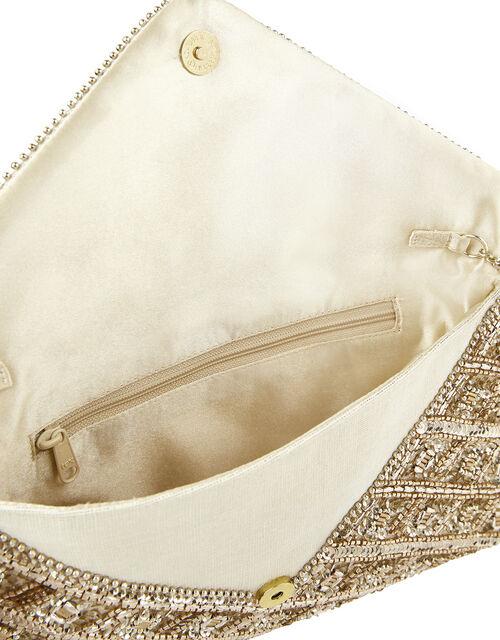 Rosie Embellished Clutch Bag, , large