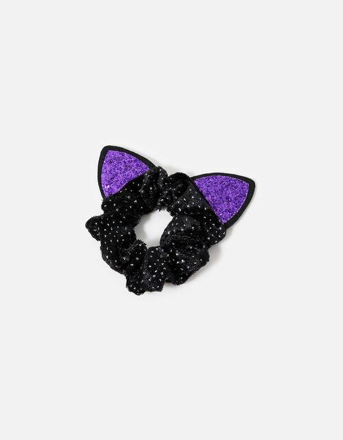 Halloween Cat Scrunchie, , large