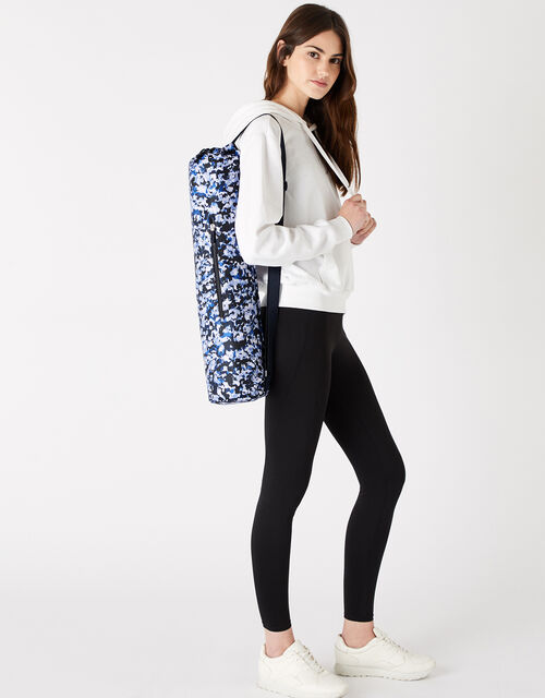 Yoga Mat and Carry Bag, Multi (DARKS-MULTI), large