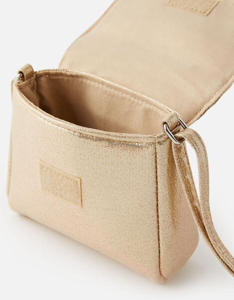 Corsage Foldover Cross-Body Bag , , large