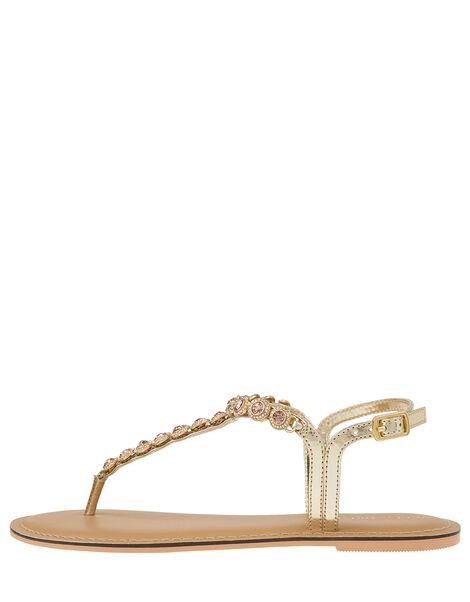 Rebecca Crystal Strap Sandals Pink, Pink (PINK), large