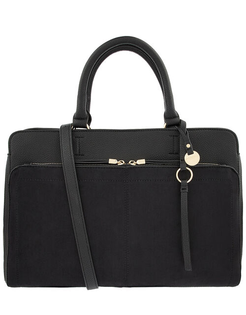 Maddie Work Bag, Black (BLACK), large