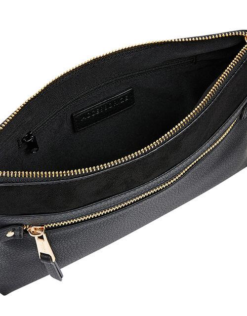 Cross-Body Envelope Bag, Black (BLACK), large