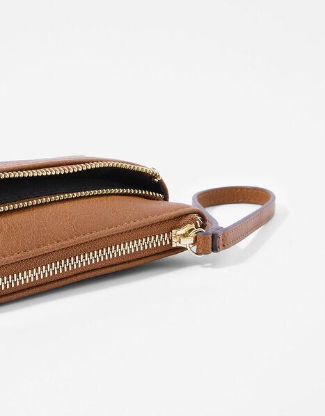 Wristlet Pouch Bag Tan, Tan (TAN), large
