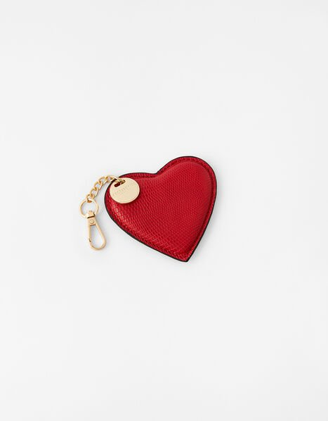 Heart Keyring Red, Red (RED), large