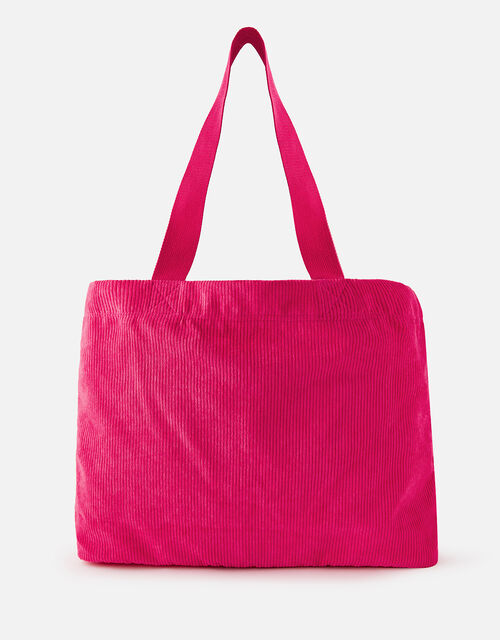 Cord Shopper Bag, Pink (PINK), large