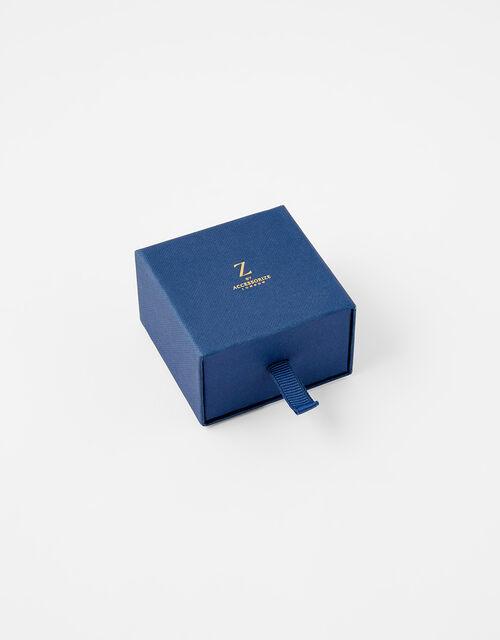 Gold Vermeil Initial Pendant Necklace - A, , large