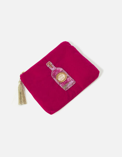 Velvet Pink Gin Pouch, , large