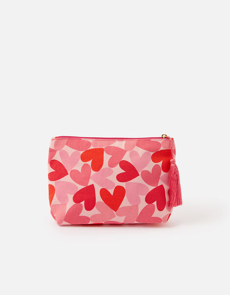 Heart Washbag, , large