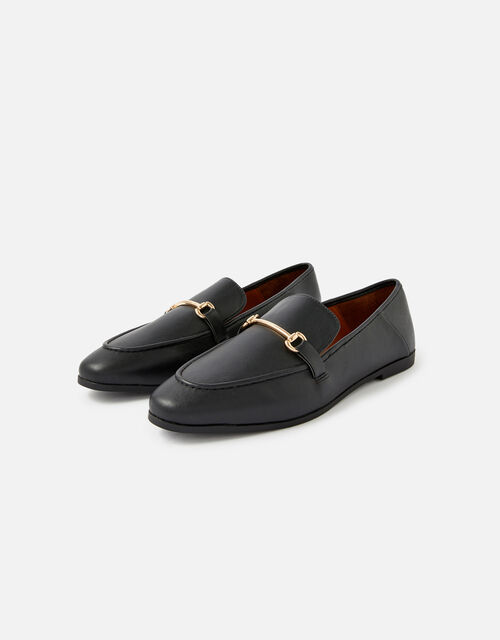Tapered Loafers , Black (BLACK), large