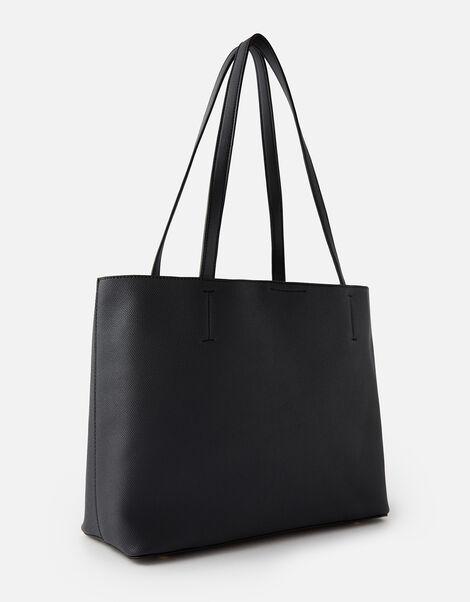 Leo Tote Bag Black, Black (BLACK), large