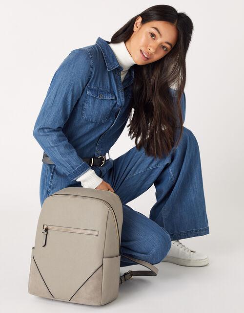Judy Vegan Backpack, Grey (GREY), large