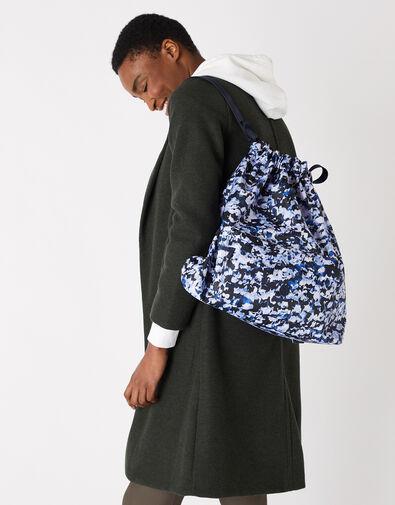 Dani Drawstring Gym Bag Multi, Multi (DARKS-MULTI), large
