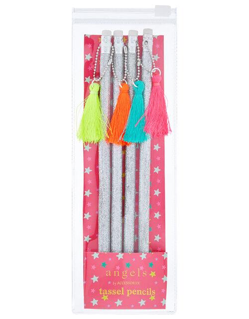 Glitter Tassel Pencil Multipack, , large