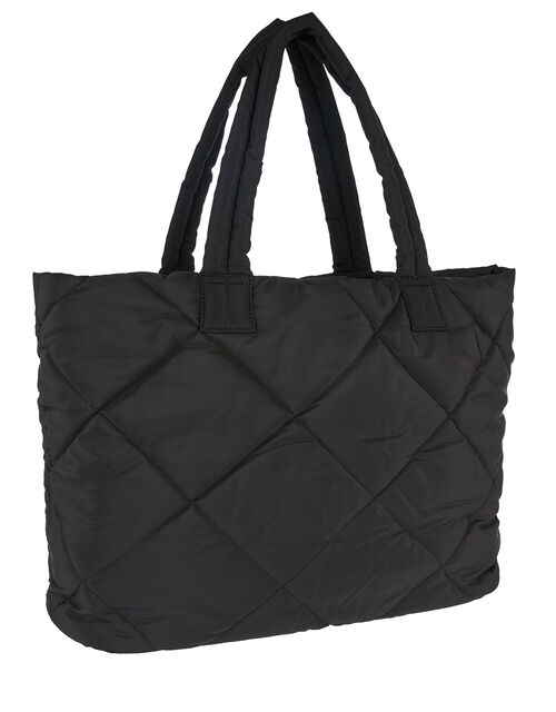 Quilted Tote Bag, , large