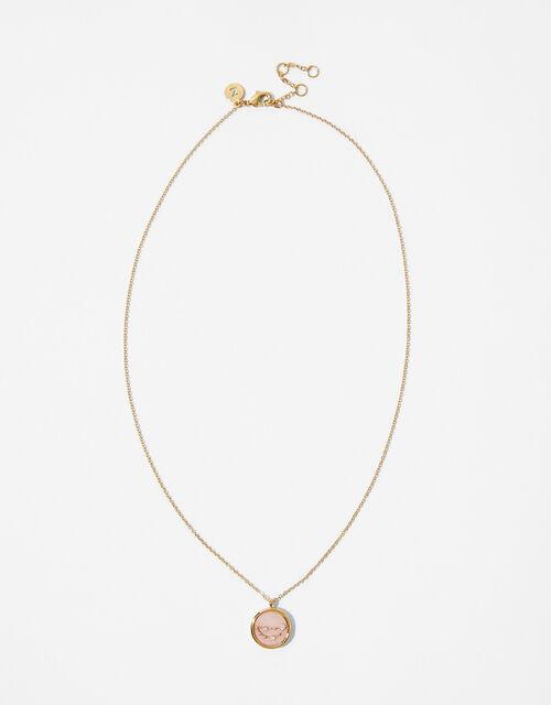 Rose Quartz Constellation Necklace - Capricorn, , large