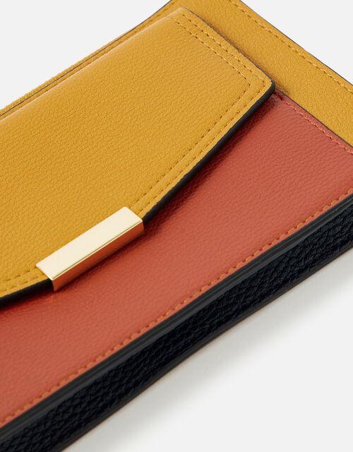 Front Pocket Zip Purse, Yellow (OCHRE), large