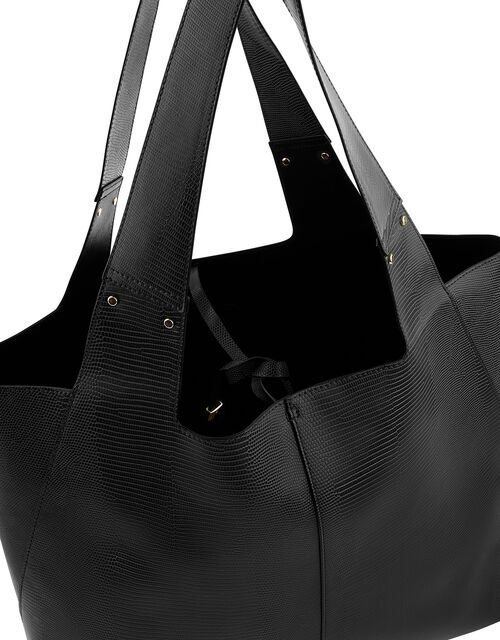 Shopper Bag, Black (BLACK), large